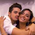 Luan Santana e Anitta são amigos e vivem tentando se encontrar nos shows que fazem pelo Brasil