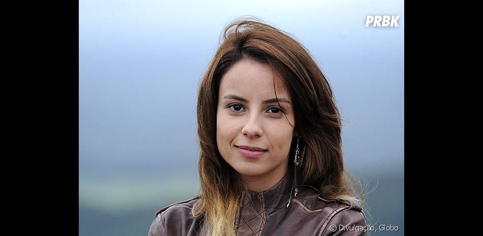 """Celeste (Andreia Horta) é a amante de Baroni (Paulinho Vilhena) em""""A Teia"""""""
