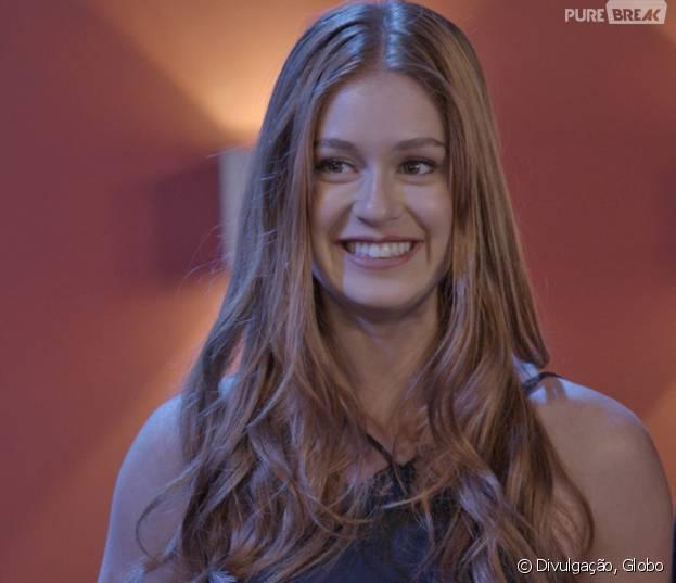 """Em """"Totalmente Demais"""", é revelado que Eliza (Marina Ruy Barbosa) é filha de Germano (Humberto Martins)"""