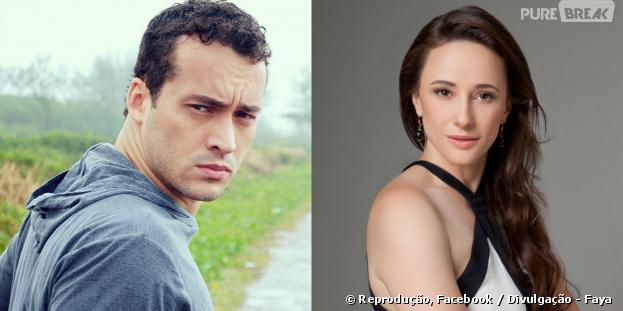 """Rodrigo Andrade e Paula Braun avaliam seus personagens com o fim de """"Amor à Vida"""""""