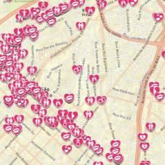 Existe amor em SP: mapa interativo permite compartilhar histórias românticas