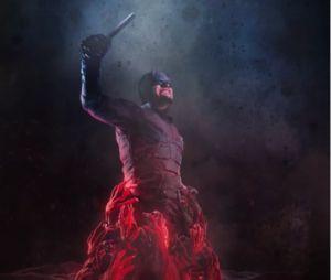 """Em """"Demolidor"""": Homem Sem Medo é puxado para o inferno em nova imagem!"""