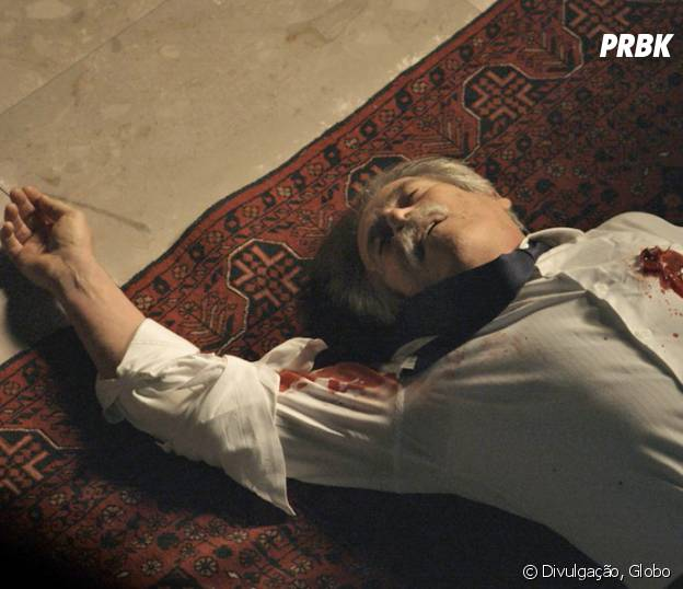 """Novela """"A Regra do Jogo"""": Gibson (José de Abreu) é assassinado e autor do tiro ainda é um mistério!"""