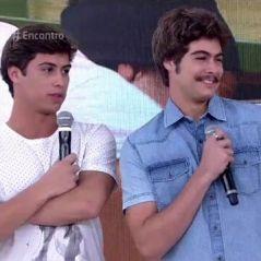 """Rafael e Francisco Vitti vão ao """"Encontro com Fátima Bernardes"""" e agitam fãs nas redes sociais!"""