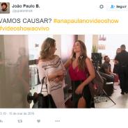 """No """"Vídeo Show"""": Ana Paula, ex-""""BBB16"""", estreia quadro """"Por Onde Anda?"""" e fãs vibram no Twitter!"""