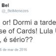 """Até a série """"House of Cards"""" virou piada após Lula ser nomeado ministro da Casa Civil"""
