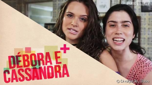 """De """"Totalmente Demais"""": Cassandra (Juliana Paiva) e Débora (Olívia Torres) estarão no spin-off da novela!"""