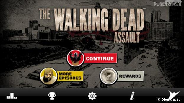 """The Walking Dead: Assault"": é um gamepara smartphones e tablets"