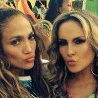 Claudia Leitte, Jennifer Lopez e Pitbull gravam o clipe da música da Copa 2014