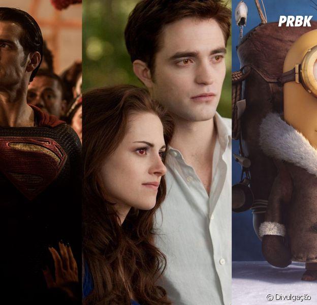 """Como """"Batman Vs Superman"""" e """"Minions"""", veja outros líderes de bilheteria criticados pela crítica!"""