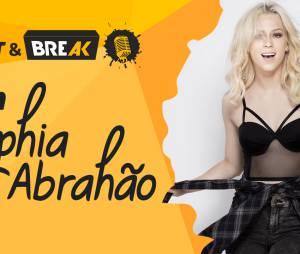 Sophia Abrahão fala sobre Sérgio Malheiros, Ivete Sangalo e Lady Gaga no Meet & Break