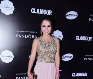 Thaeme, da dupla com Thiago, também marcou presença no Prêmio Geração Glamour