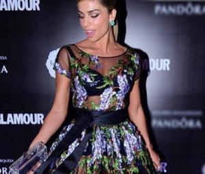 Grazi Masssafera arrasou no look ao comparecer ao Prêmio Geração Glamour