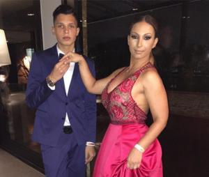 Valesca Popozuda foi com o filho Pablo ao Prêmio Geração Glamour