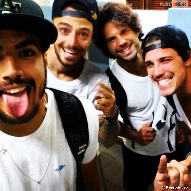 """Caio Castro, Felipe Titto, Duda Nagle e Romulo Neto são alguns dos gatos que vão participar do quadro """"Saltibum"""""""