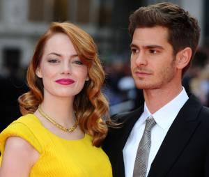 """Emma Stone e Andrew Garfield se conheceram durante as filmagens de """"O Espetacular Homem-Aranha"""""""