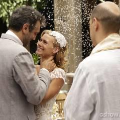 """Em """"Joia Rara"""": Iolanda e Mundo finalmente se casam na novela!"""