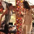 "Na novela ""Em Família"", Giselle (Agatha Moreira) vai tomar um tapa da mãe!"