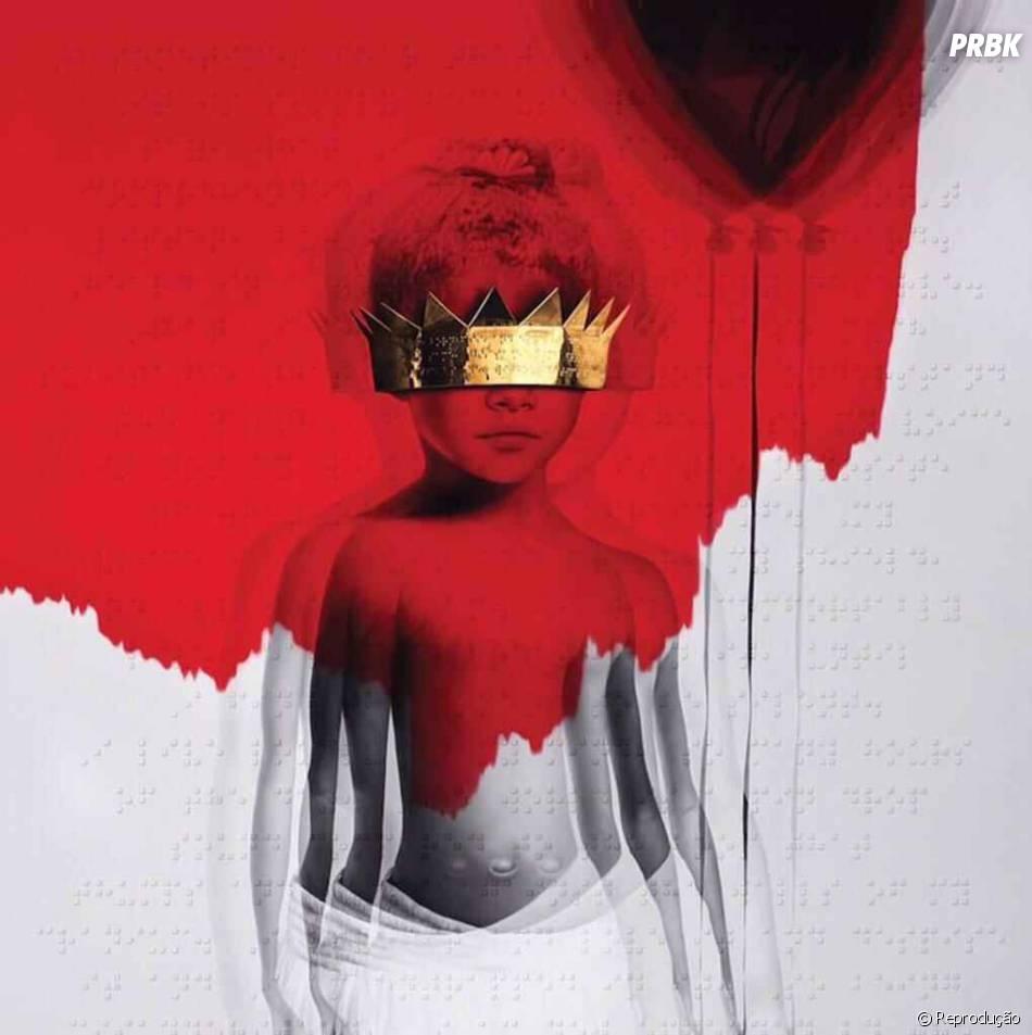 """O último disco lançado por Rihanna se chama """"ANTI"""""""