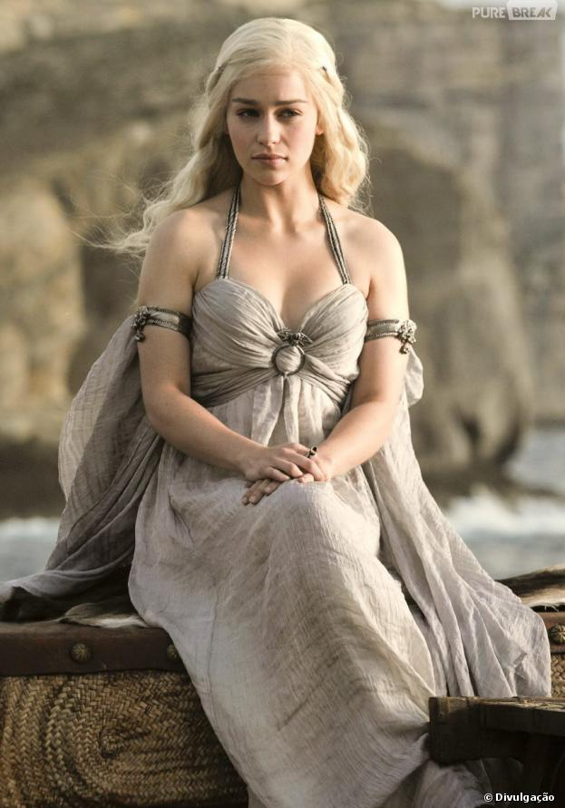 "Daenerys (Emilia Clarke) é a poderosa em ""Game of Thrones""!"