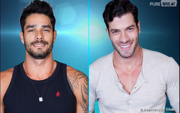 """Diego e Roni estão no paredão do """"BBB14"""""""