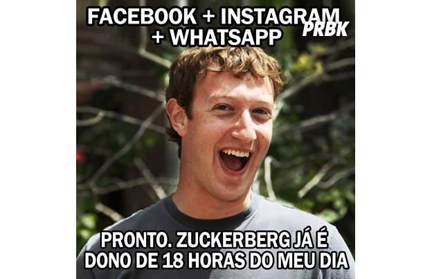 Facebook anunciou compra do Whatsapp por 16 bilhões de dólares