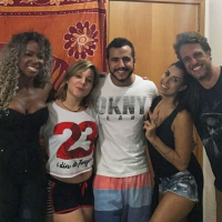 "Do ""BBB16"", Matheus, Maria Claudia, Adélia, Juliana e Daniel se reencontram após fim do reality!"