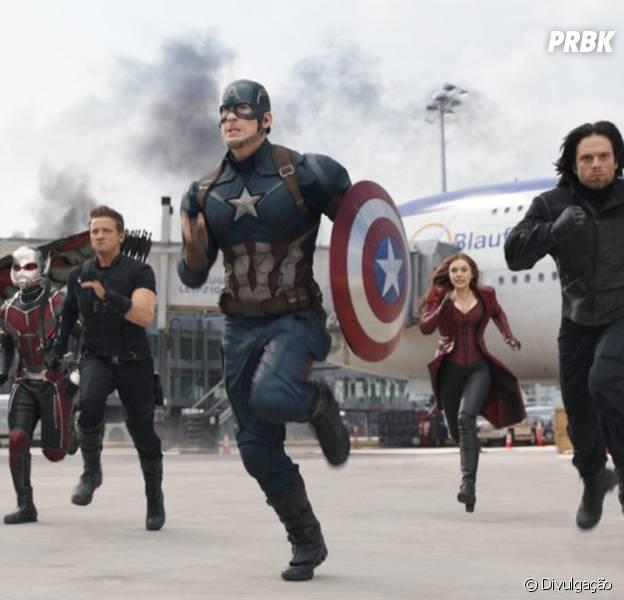 """Veja porque você não pode perder """"Capitão América 3: Guerra Civil"""" nos cinemas!"""