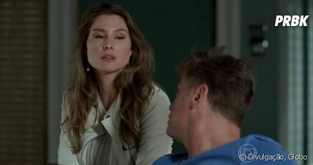 """Novela """"Totalmente Demais"""": Arthur (Fábio Assunção) e Natasha (Lavínia Vlasak) ficam juntos, mas resolvem ser apenas amigos no final da trama"""