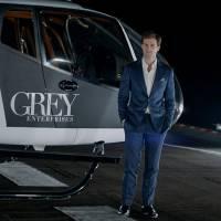 """De """"50 Tons Mais Escuros"""": helicóptero Charlie Tango cai com Christian Grey em nova cena rodada!"""