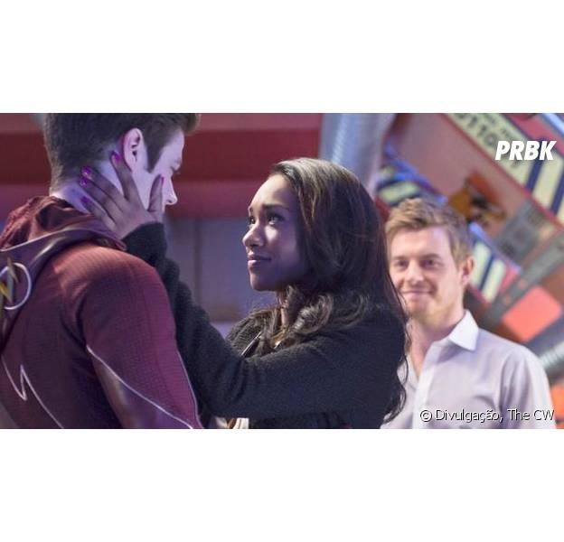 "Em ""The Flash"": Iris (Candice Patton)se declara para Barry (Grant Gustin)!"