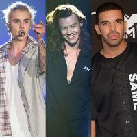 Justin Bieber, One Direction e Drake estão entre os artistas que mais faturam com streamings