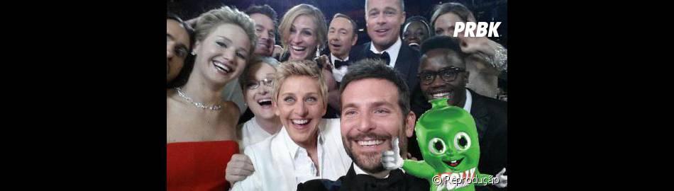 Dollynho, nosso amiguinho também participou da selfie