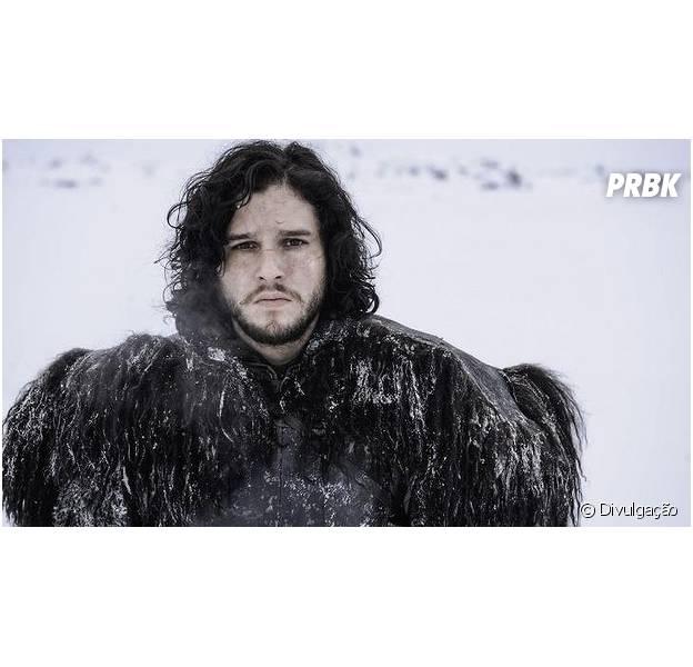 """Em """"Game of Thrones"""", Jon Snow (Kit Harington) se transforma e mudança já é vista nos próximos episódios!"""
