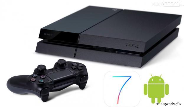 PS4 terá aplicativo para smartphone com iOS 7 e Android