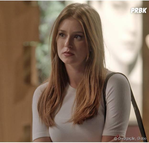 """Em """"Totalmente Demais"""", Eliza (Marina Ruy Barbosa) aceita morar com Arthur (Fábio Assunção) e deixa Jonatas (Felipe Simas) revoltado!"""