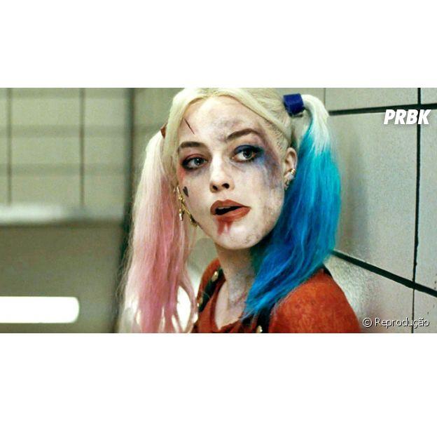 """Longa """"Esquadrão Suicida"""" ainda nem estrou, mas apostas que Arlequina (Margot Robbie) vai roubar a cena já são feitas!"""