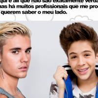 """Justin Bieber ou João Guilherme Ávila, de """"Cúmplices de um Resgate""""? Quem disse cada frase?"""