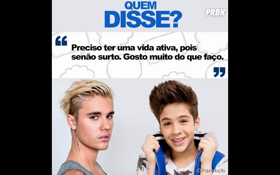 E aí, Justin Bieber ou João Guilherme Ávila?