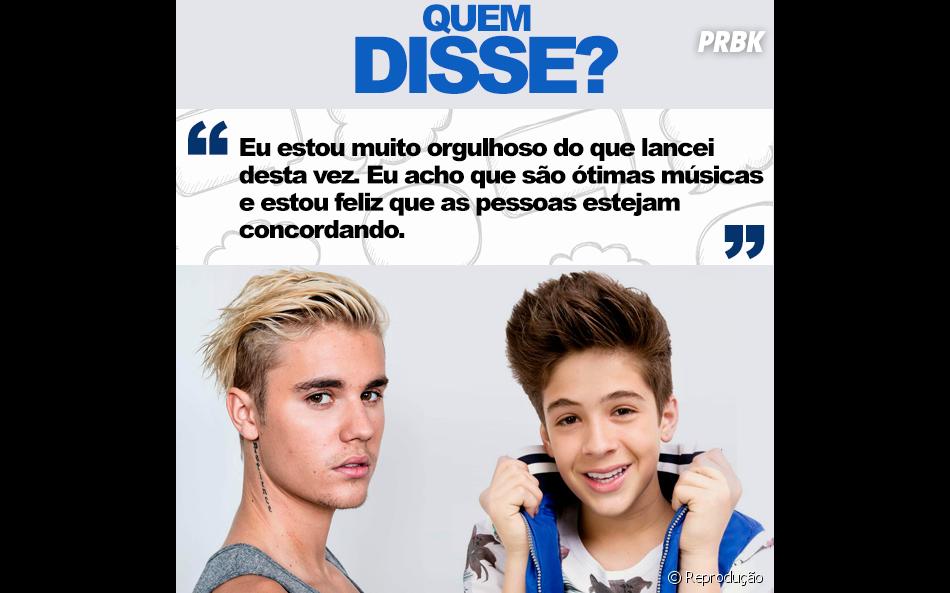 Justin Bieber ou João Guilherme Ávila? Última rodada!