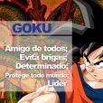 """De """"Dragon Ball"""": Goku é o lider do grupo!"""