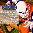 """De """"Dragon Ball"""": o grande amigão da turma, Kuririn é um cara que ninguém fala mal"""