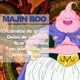 """De """"Dragon Ball"""": antes vilão, depois queridinho de todos, Majin Boo só pensa em comer!"""
