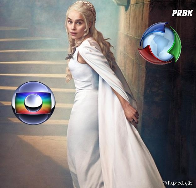 "Série ""Game of Thrones"" inspira futuras novelas da Globo e Record"