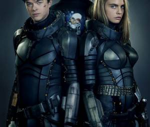 "Cara Delevingne e Dane DeHaan são os protagonistas de ""Valerian And The City Of A Thousand Planets"""