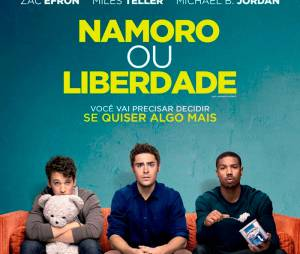 "Cartaz nacional de ""Namoro ou Liberdade"", que estreia dia 20 de março nos cinemas brasileiros"
