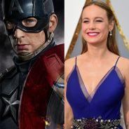 """De """"Capitã Marvel"""": Chris Evans quer Brie Larson, vencedora do Oscar 2016, como protagonista!"""