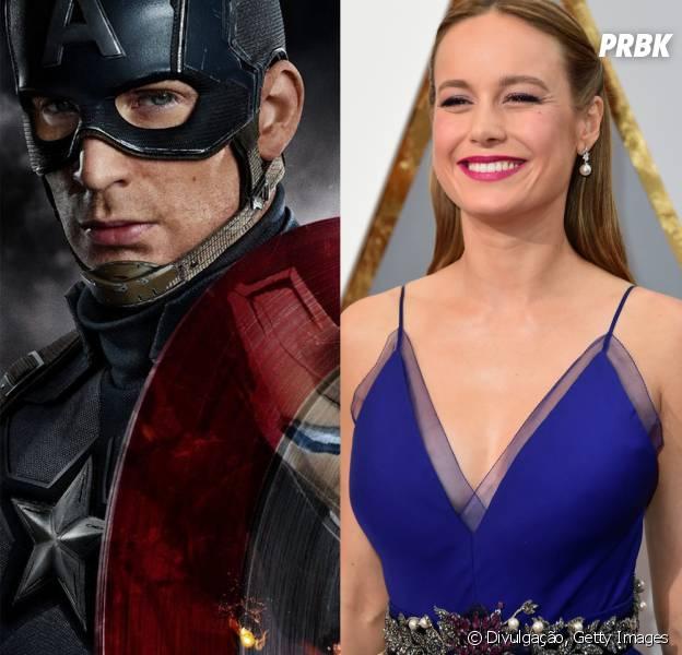 Chris Evans elogia Brie Larson, possível Capitã Marvel
