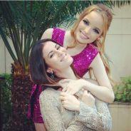 """Novela """"Cúmplices de Um Resgate"""": Priscila (Giovanna Chaves) e Safira (Dani Moreno) fazem as pazes!"""