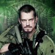 """Filme """"Esquadrão Suicida"""":Rick Flag(Joel Kinnaman) é de tirar o fôlego, hein?"""